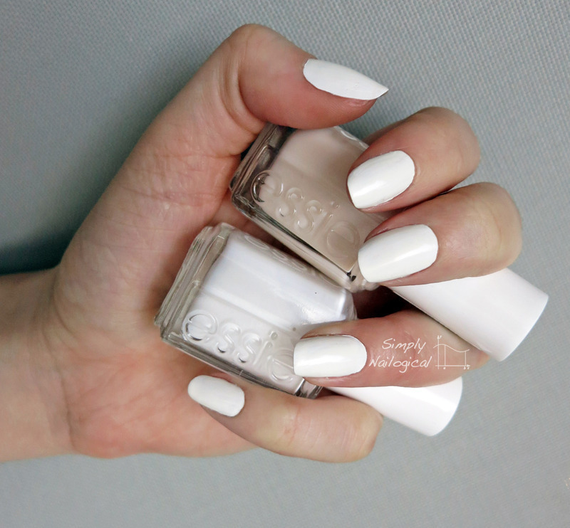 Stark white mani nail art by simplynailogical