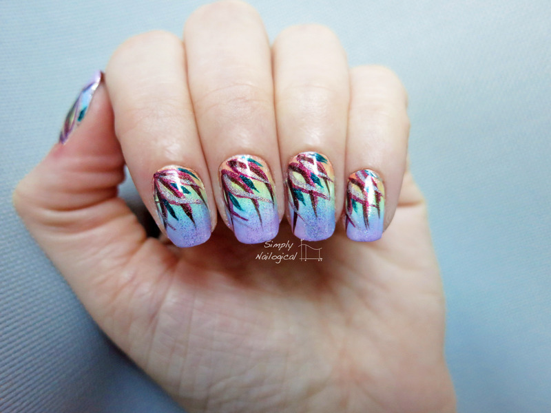 Gettin' ready for spring! nail art by simplynailogical