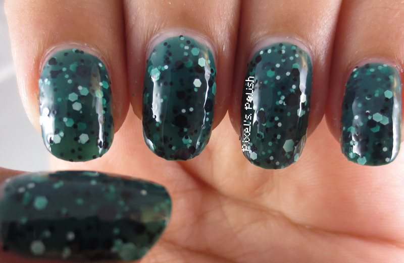 Maybelline Colorshow Rain Forest Canopy Swatch by Pixel's Polish