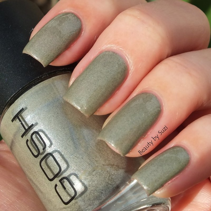 GOSH 604 Fossil Grey Swatch by Suzi - Beauty by Suzi