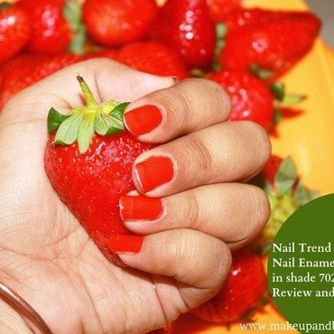 Nail trend nail enamel by reliance in shade 702 review and notd thumb370f