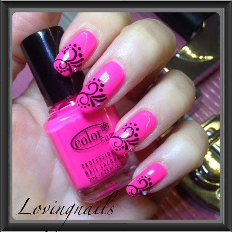 nail art girly nail art by lovingnails nail art