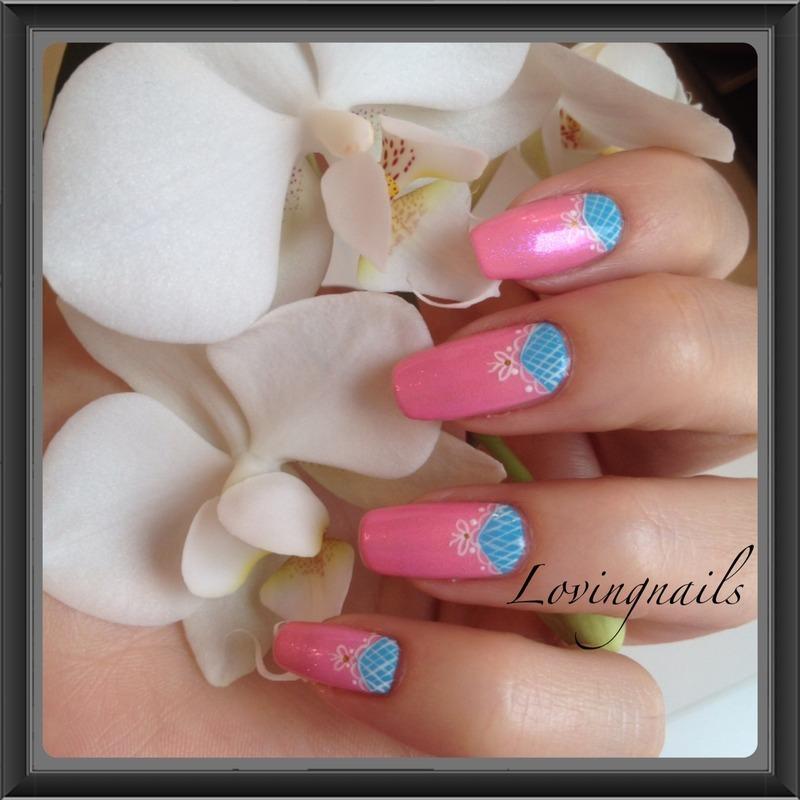 nail art resille  nail art by lovingnails nail art
