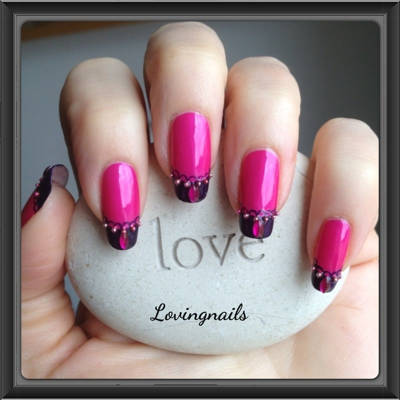 nail art french dentelle nail art by lovingnails nail art