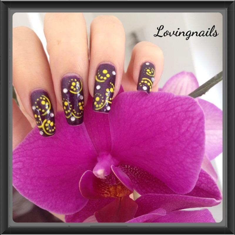 nail art psychedelic nail art by lovingnails nail art