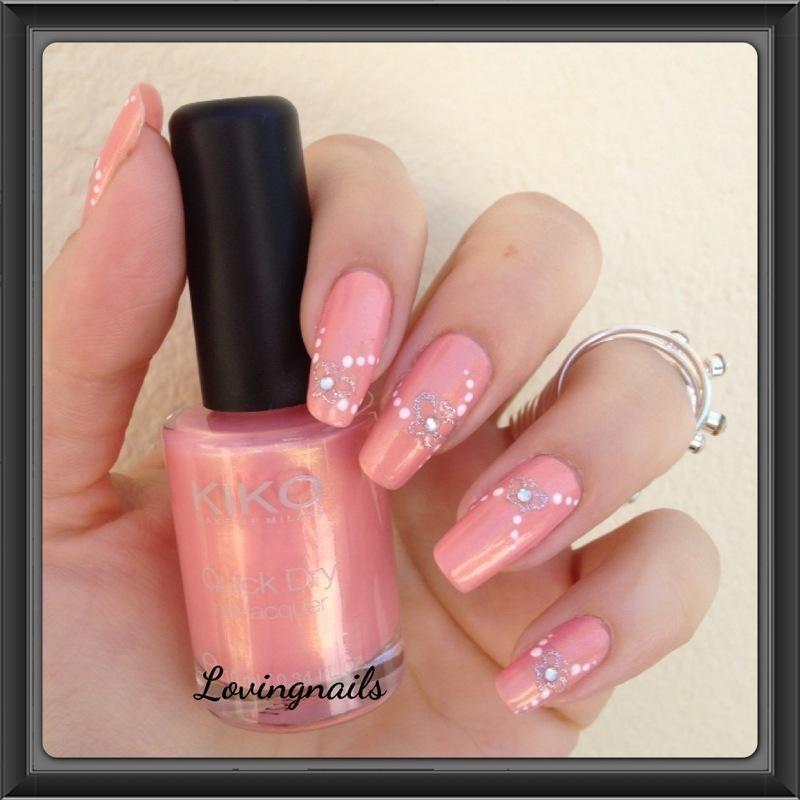 nail art papillon nail art by lovingnails nail art