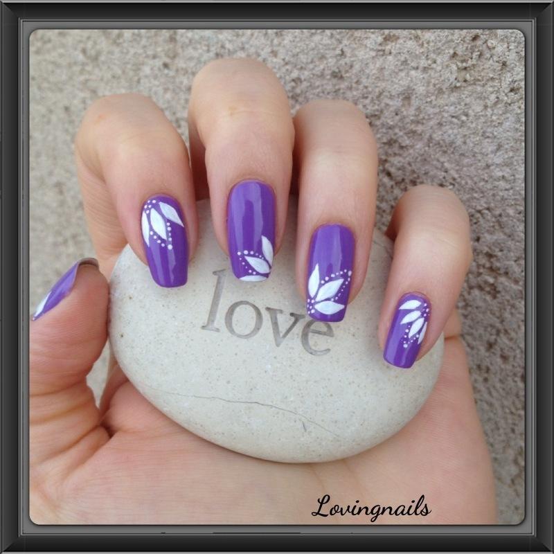 nail art fleurs nail art by lovingnails nail art