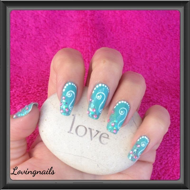 nail art sirene nail art by lovingnails nail art