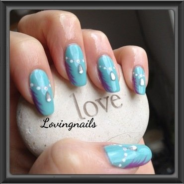 nail art collier nail art by lovingnails nail art
