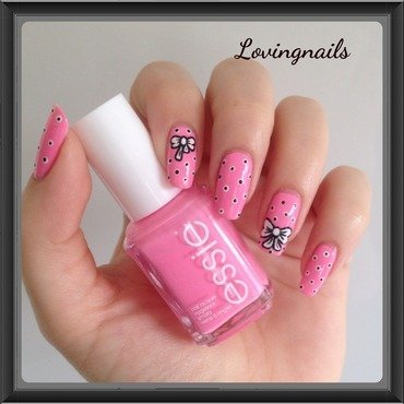 nail art noeuds nail art by lovingnails nail art