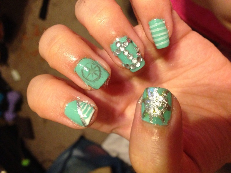 All Hands on Deck nail art by Snowwhitequ33n