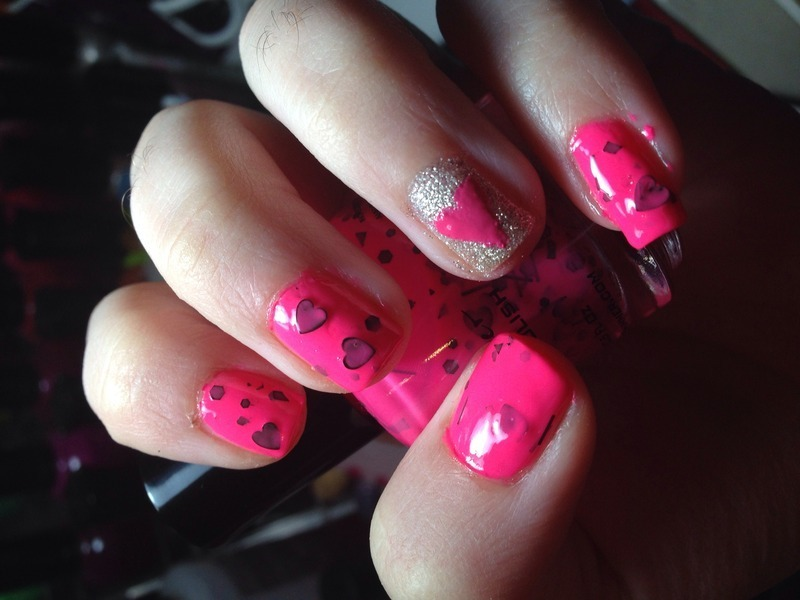 Love nail art by Snowwhitequ33n