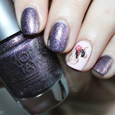 WHO'S THAT GIRL? nail art by Amethyst