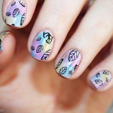 Sheer Tints OPI nail art by Amethyst