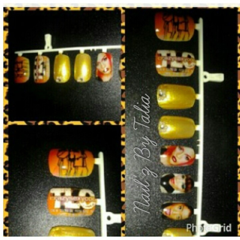 Ooohhh on the TLC Tip! nail art by taliatatztips