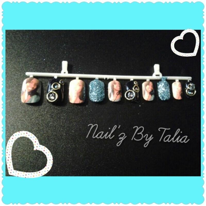 I'm so pretty! nail art by taliatatztips