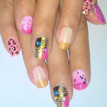 Mix Designs   nail art by Arnolin Modokh
