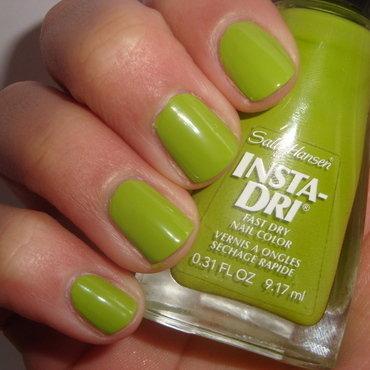 Sally Hansen Insta-Dri Lickety-Split Lime Swatch by Jessica