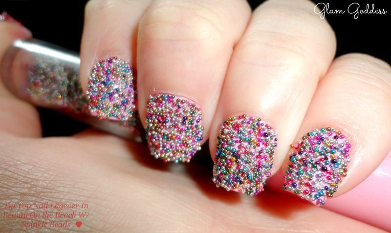 Caviar Nails nail art by Britney