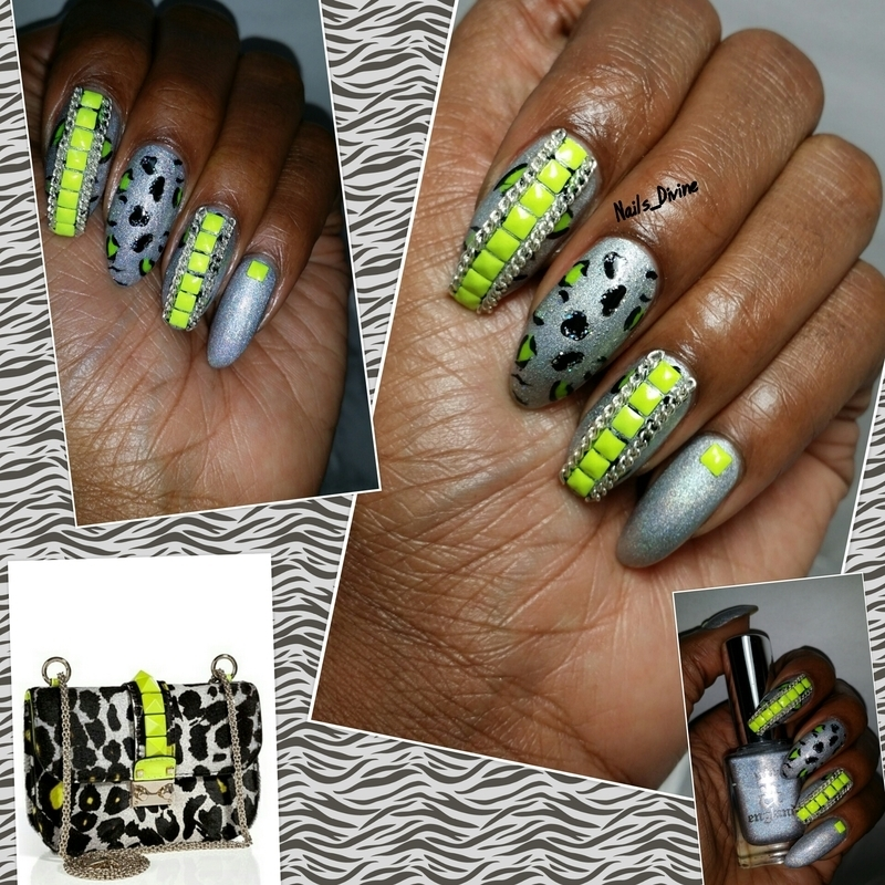 All Chained Up nail art by Nails_Divine