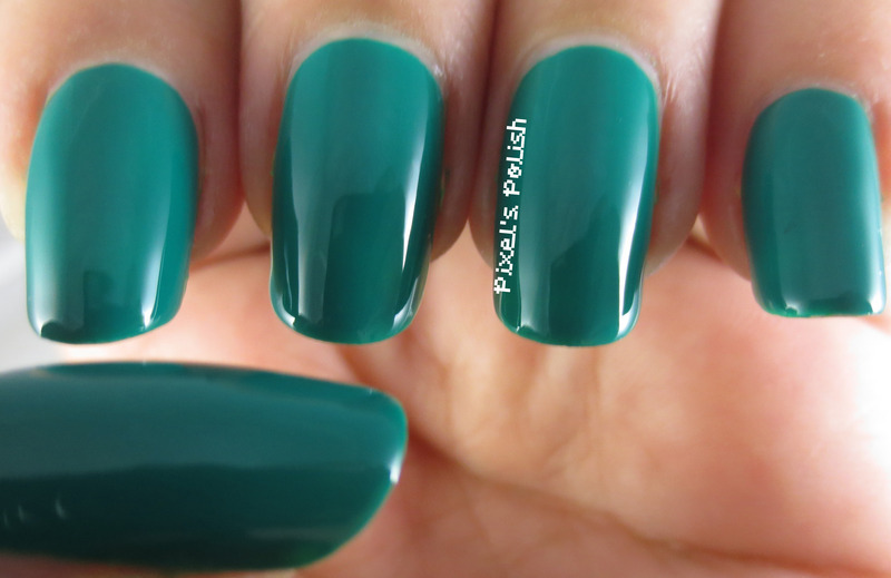 Color Club Wild Cactus Swatch by Pixel's Polish