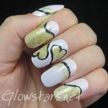 To want you so much is a mysterious game nail art by Vic 'Glowstars' Pires