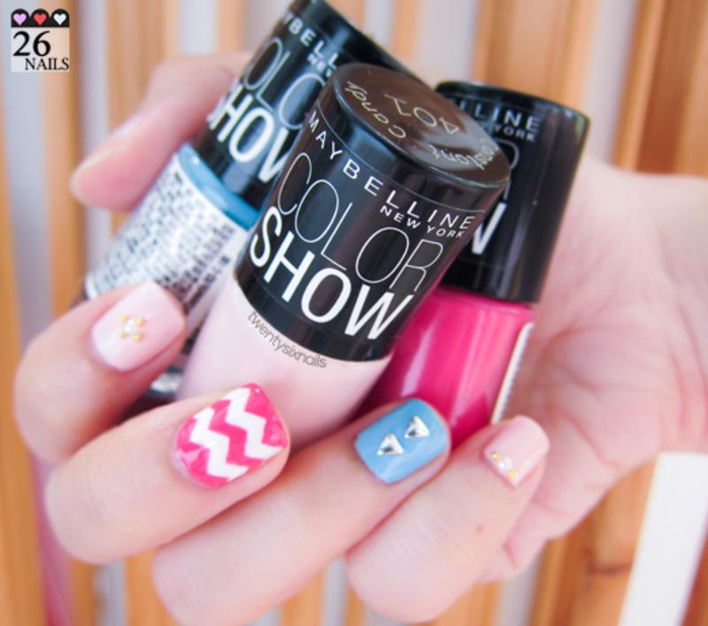 My Color Show nail art by Kay Woo