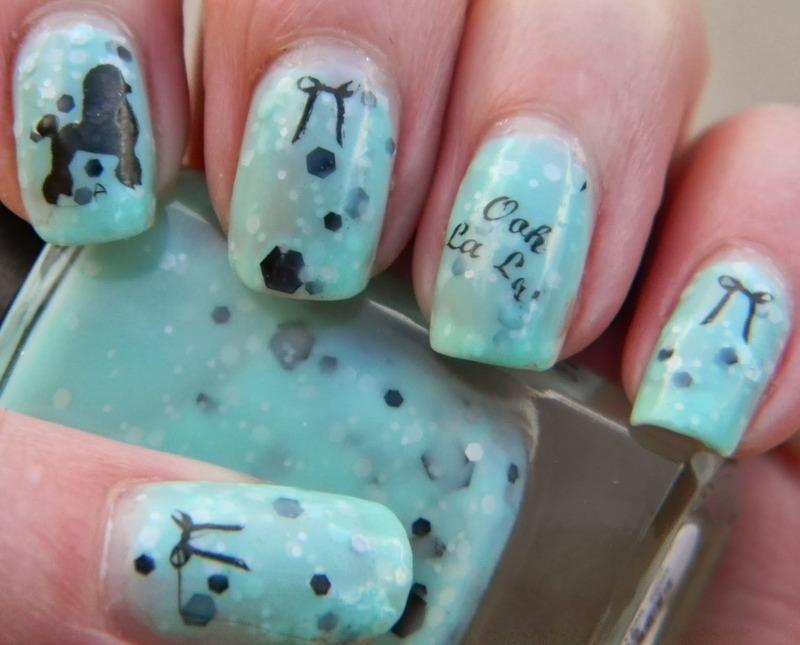 Oh La La nail art by Polishfreshie