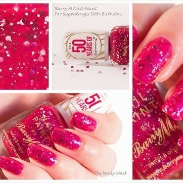 Barry M L.E. Superdrug's 50th Birthday Swatch by The Naily Mail