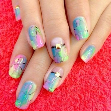 Gelish Harmony Spring Colors Nail Art Design Nail Art And Swatches
