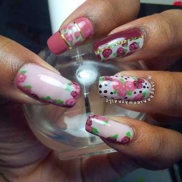 Floral nail art by stephanieewho