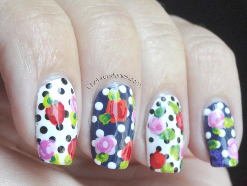 springtime 2014 nail art by thetrendynail