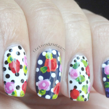 springtime 2014 nail art by thetrendynail