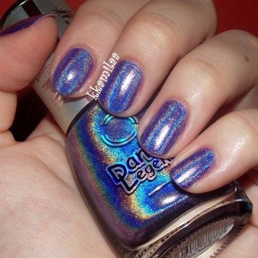 Dance Legend Cosmic Rainbow Swatch by Kamila