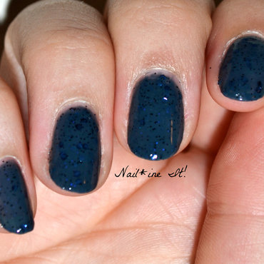 Cadillacquer The Dark...Whatever Swatch by Christine of Nail*ine It!