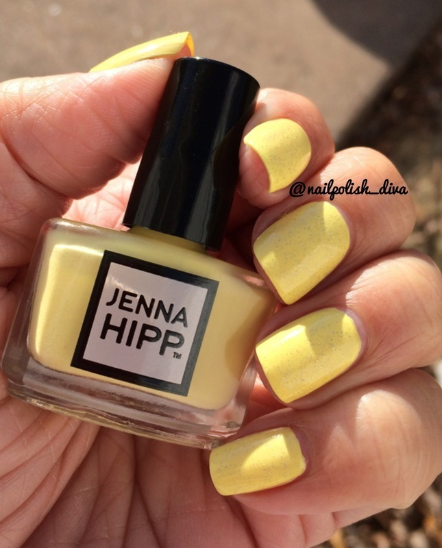 Spring's Perfect Yellow! nail art by Marilyn