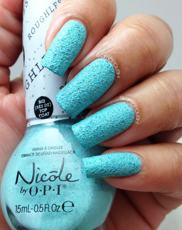 Nicole by OPI On What Grounds? Swatch by Amber Connor