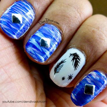 Halloween Nails -Angels & Demons nail art by Madhu DenDiva ...