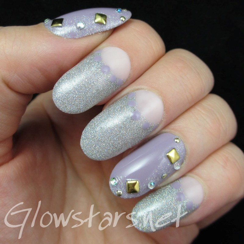 Hit Me Like A Man, Love Me Like A Woman nail art by Vic 'Glowstars' Pires