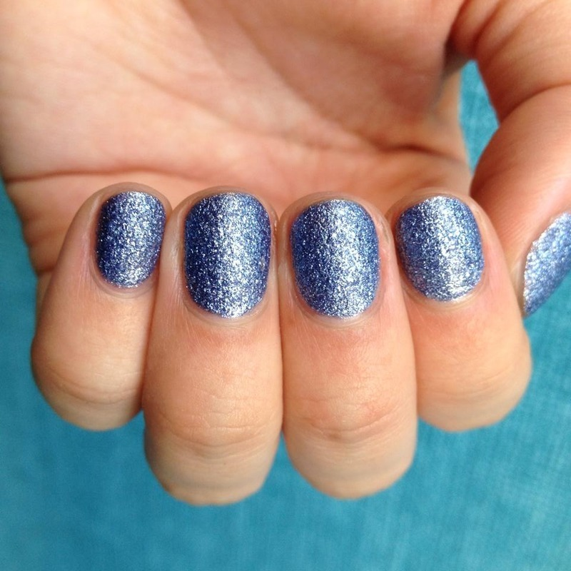 Nicole by OPI Blueberry Sweet On You Swatch by Kasey Campa