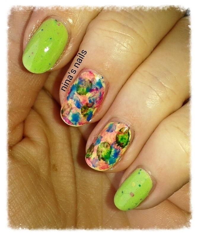 colorfull spring nail art by Nina\'s nails - Nailpolis: Museum of ...