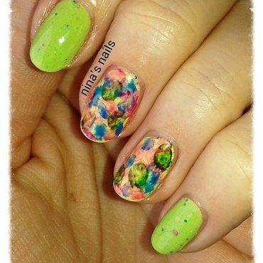 colorfull spring nail art by Nina's nails