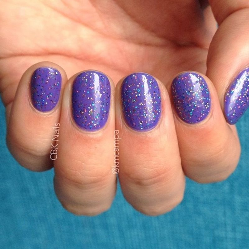 Wet n Wild On a Trip and Mod Lacquer Retro Disco Swatch by Kasey Campa