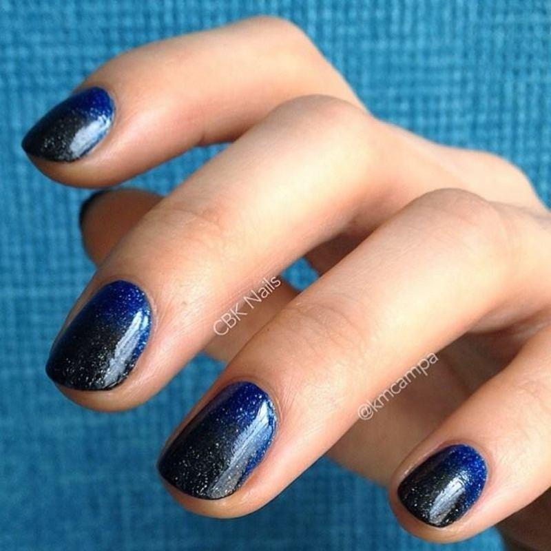 Zoya Gradient II nail art by Kasey Campa