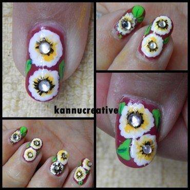 Spring ones stroke nail art thumb370f