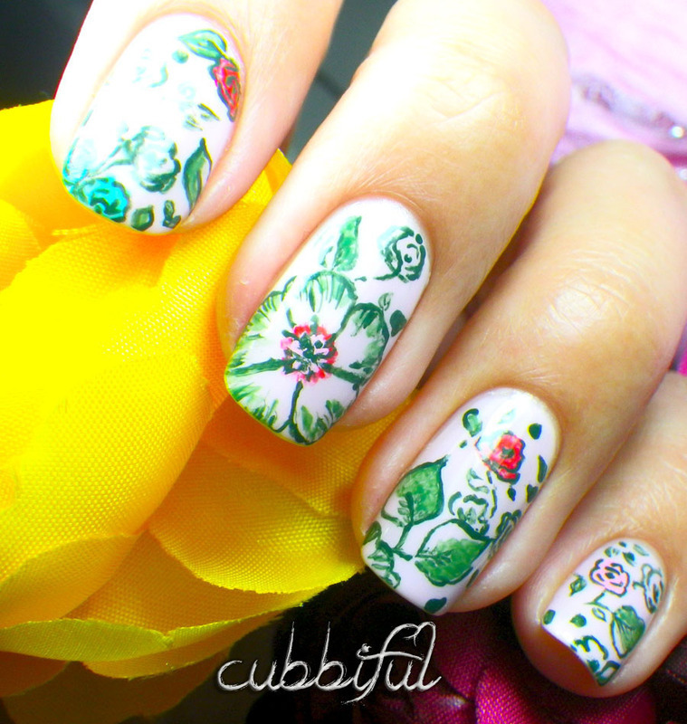 Inspired by... a Pair of Knickers nail art by Cubbiful