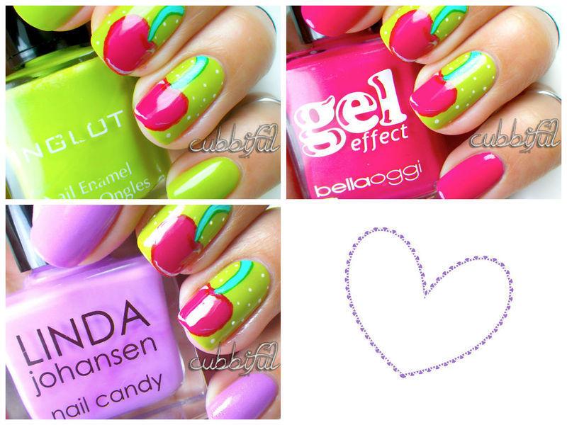 Choose Your Colour!! nail art by Cubbiful