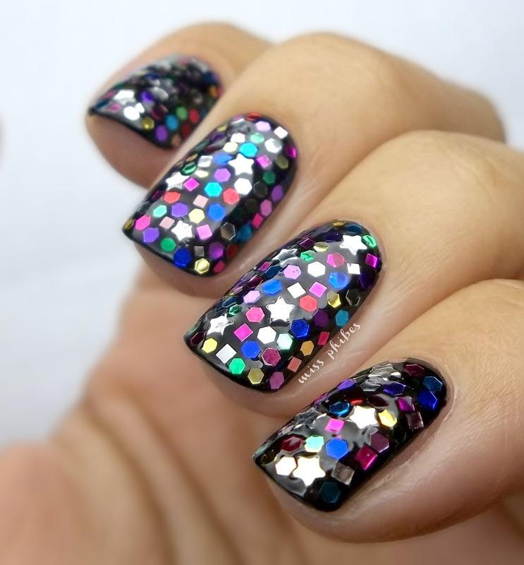 fun nail art by MissPhibes