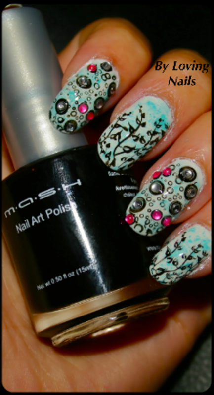 UnderWater World  nail art by Lovingnailsnailart