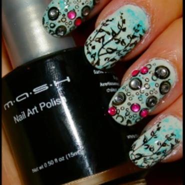 UnderWater World  nail art by Lovingnailsnailart